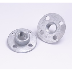 3M™ 051144-05622 Disc Retainer Nut, 3/8 in L, For Use With Disc Sander and Right Angle Grinder
