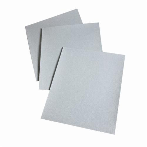 3M™ 051144-10240 Coated Abrasive Sheet, 11 in L x 9 in W, 500 Grit, Super Fine Grade, Silicon Carbide Abrasive, Paper Backing