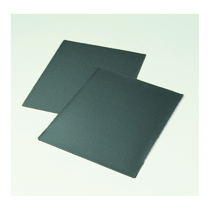 3M™ 051144-10455 481W Coated Sanding Sheet, 11 in L x 9 in W, 220 Grit, Very Fine Grade, Silicon Carbide Abrasive, Cloth Backing
