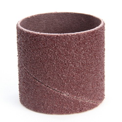 3M™ 051144-11984 341D Coated Band, 1-1/2 in Dia x 1-1/2 in L Band, 50 Grit, Coarse Grade, Aluminum Oxide Abrasive