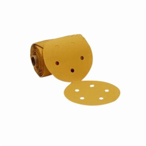 Stikit™ 051144-88705 Open Coated PSA Abrasive Disc Roll, 5 in Dia, P320 Grit, Aluminum Oxide Abrasive, Paper Backing