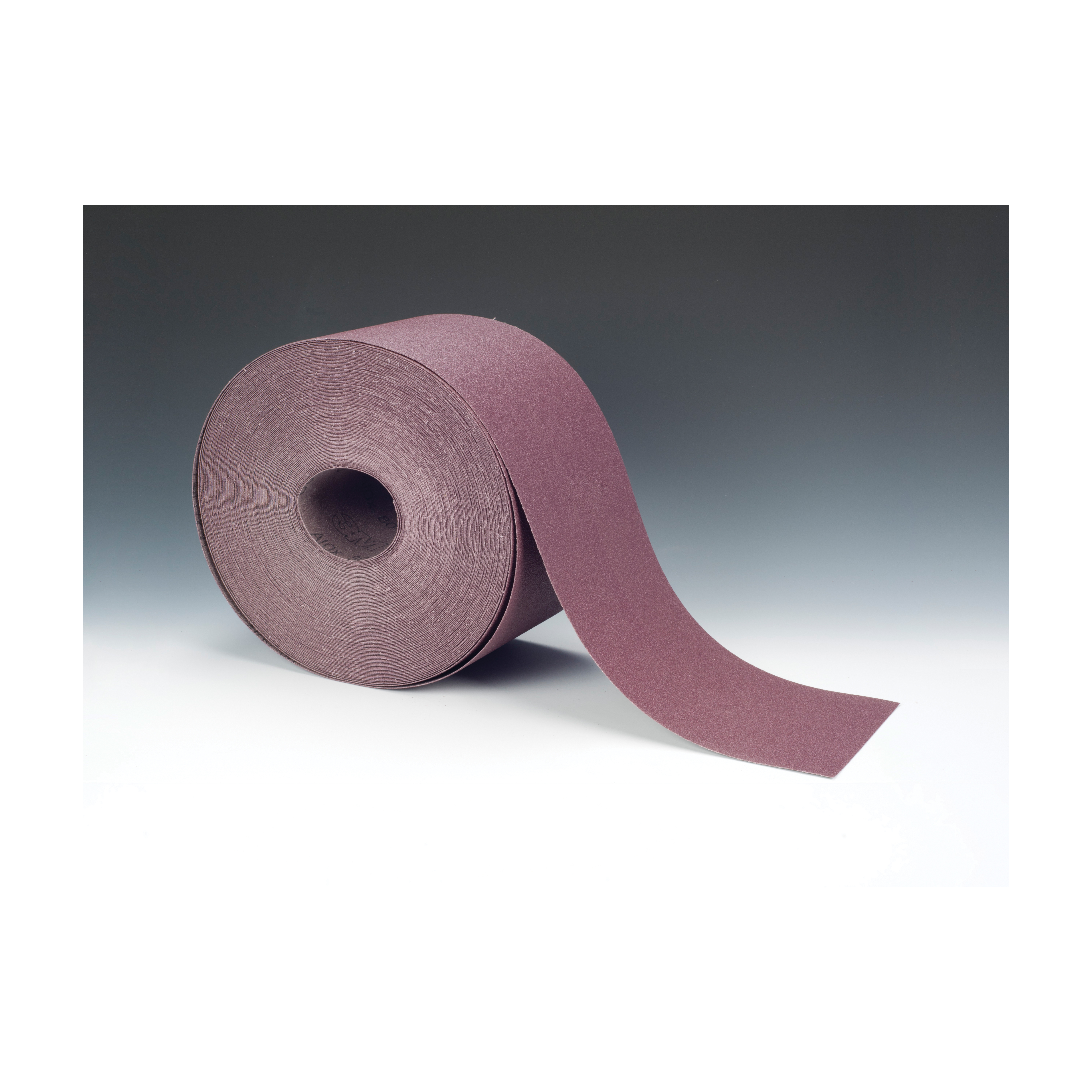 3M™ 051144-15173 Closed Coated Abrasive Roll, 50 yd L x 4 in W, 80 Grit, Medium Grade, Aluminum Oxide Abrasive, Cloth Backing