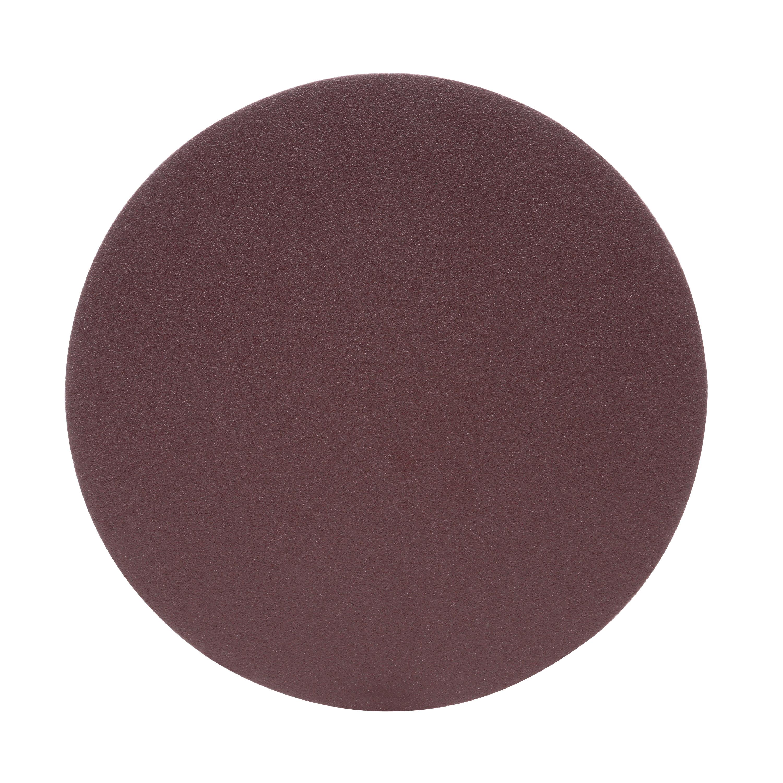 3M™ 051144-20868 Heavy Duty PSA Close Coated Abrasive Disc, 8 in Dia, P120 Grit, Fine Grade, Aluminum Oxide Abrasive, Cloth Backing