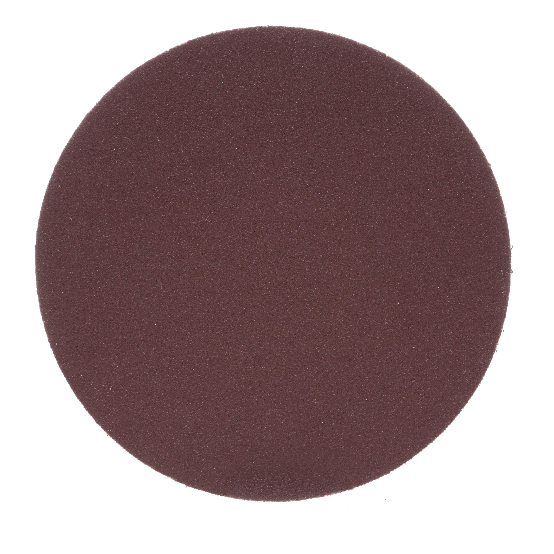 3M™ 051144-20883 348D Heavy Duty PSA Carbide Burr, 5 in Dia Disc, P180 Grit, Very Fine Grade, Aluminum Oxide Abrasive, Cloth Backing