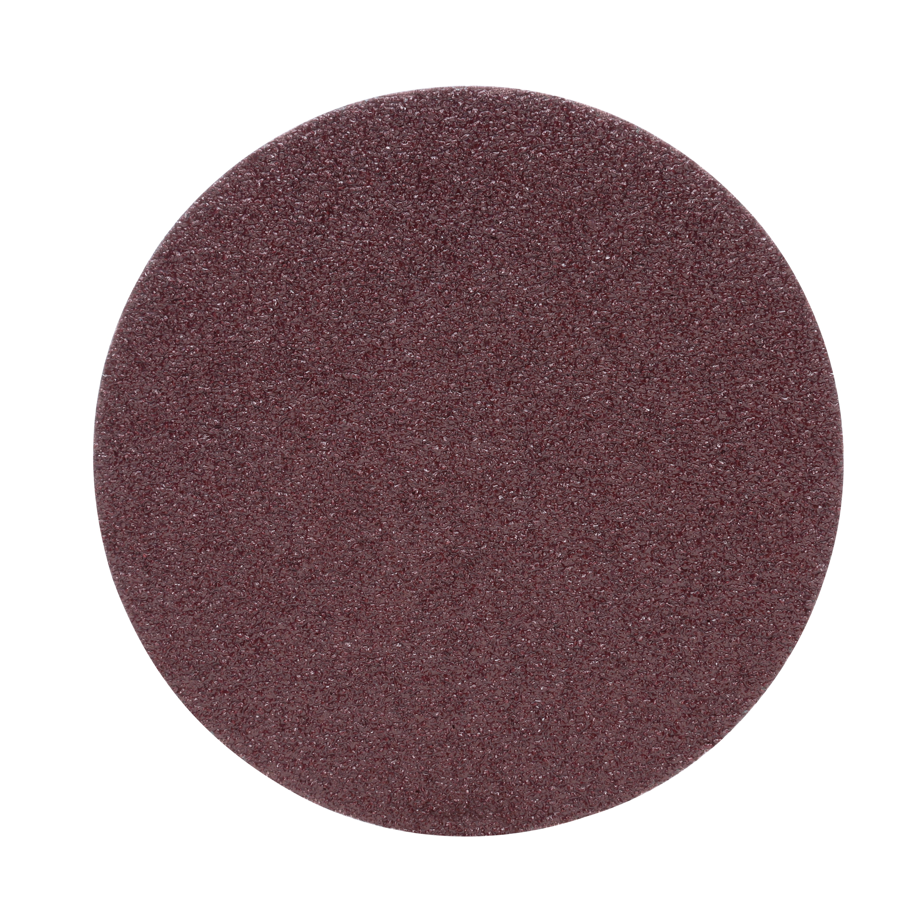 3M™ 051144-21639 Heavy Duty PSA Close Coated Abrasive Disc, 6 in Dia, 36 Grit, Very Coarse Grade, Aluminum Oxide Abrasive, Cloth Backing