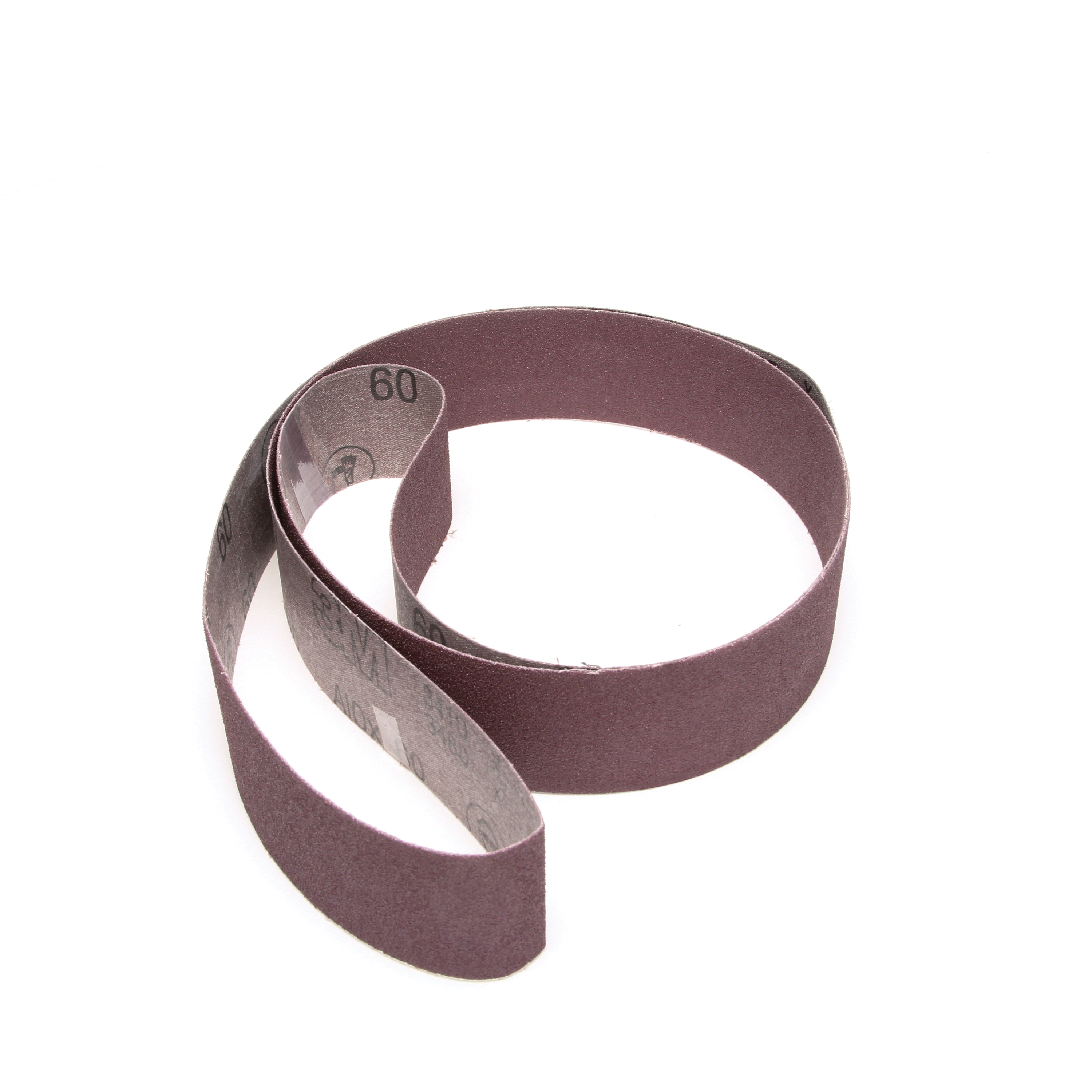 3M™ 051144-26316 Narrow Coated Abrasive Belt, 2 in W x 72 in L, 60 Grit, Medium Grade, Aluminum Oxide Abrasive, Cloth Backing