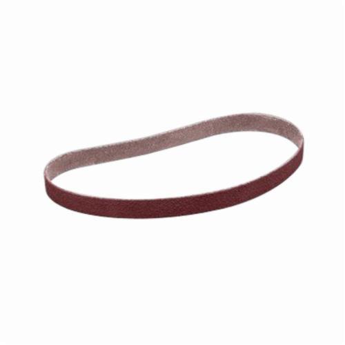 3M™ 051144-26441 Narrow Coated Abrasive Belt, 1-1/2 in W x 60 in L, 40 Grit, Coarse Grade, Aluminum Oxide Abrasive, Cloth Backing