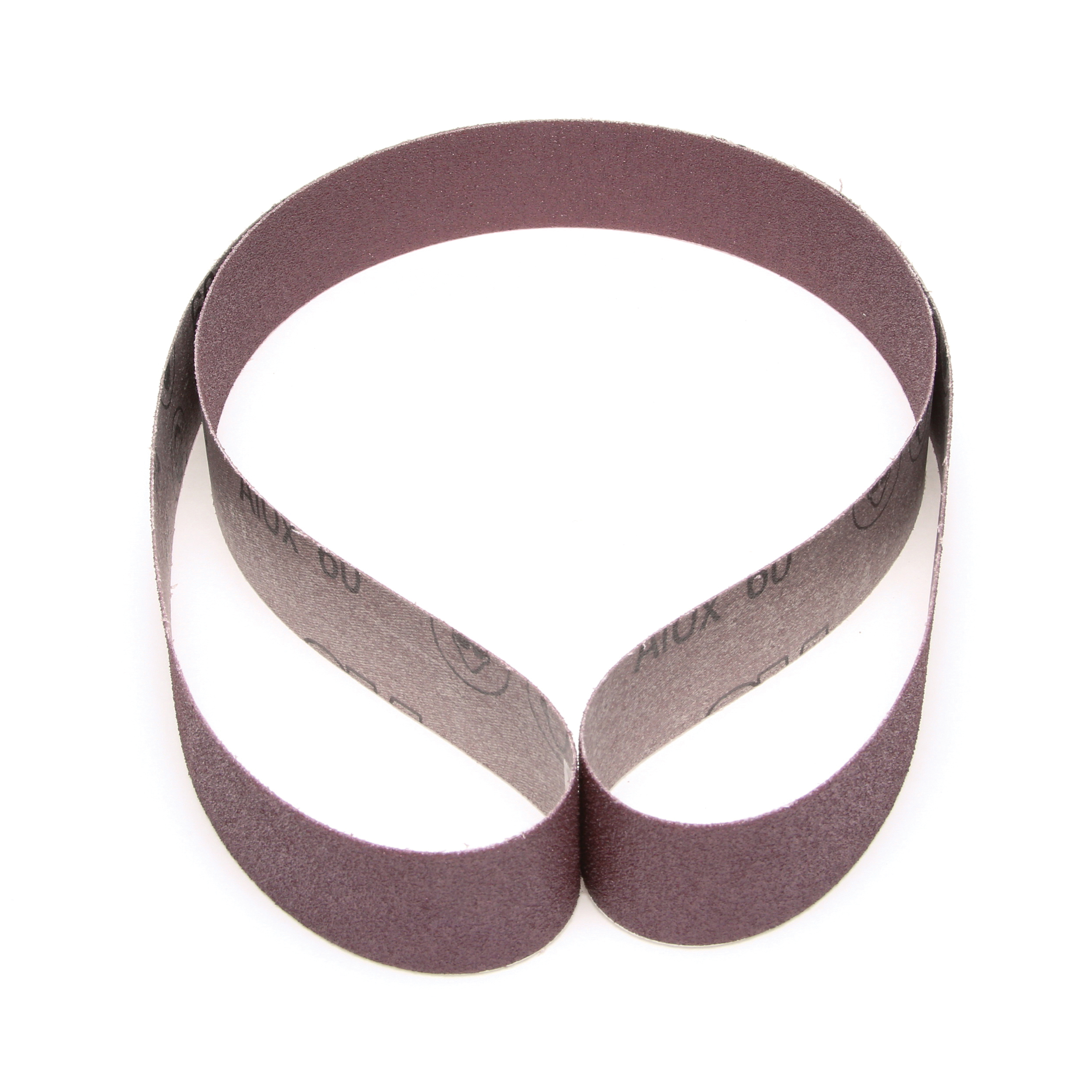 3M™ 051144-26438 Narrow Coated Abrasive Belt, 1-1/2 in W x 60 in L, 60 Grit, Medium Grade, Aluminum Oxide Abrasive, Cloth Backing