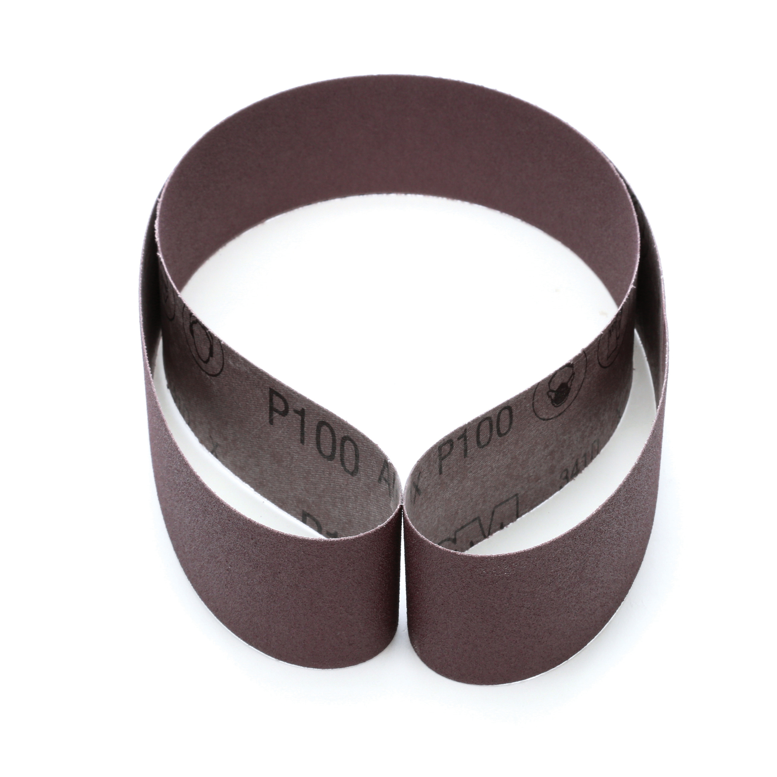 3M™ 051144-26561 341D Narrow Abrasive Belt, 2 in W x 48 in L, P100 Grit, Fine Grade, Aluminum Oxide Abrasive, Cloth Backing