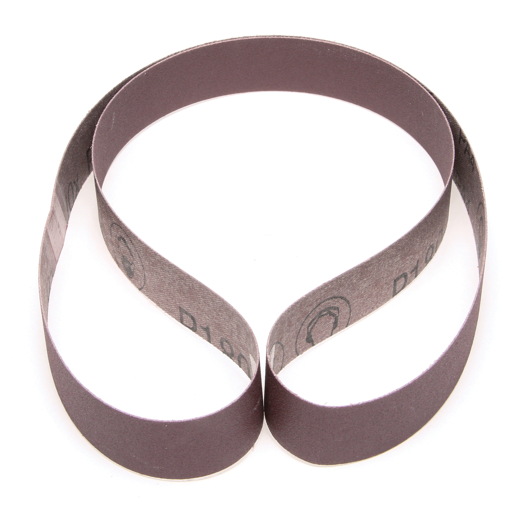3M™ 051144-26601 341D Narrow Abrasive Belt, 1 in W x 42 in L, P180 Grit, Very Fine Grade, Aluminum Oxide Abrasive, Cloth Backing
