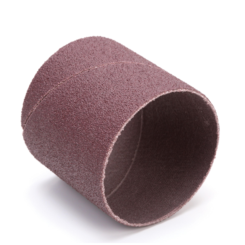 3M™ 051144-40183 341D Coated Spiral Band, 2 in Dia x 2 in L Band, 80 Grit, Medium Grade, Aluminum Oxide Abrasive
