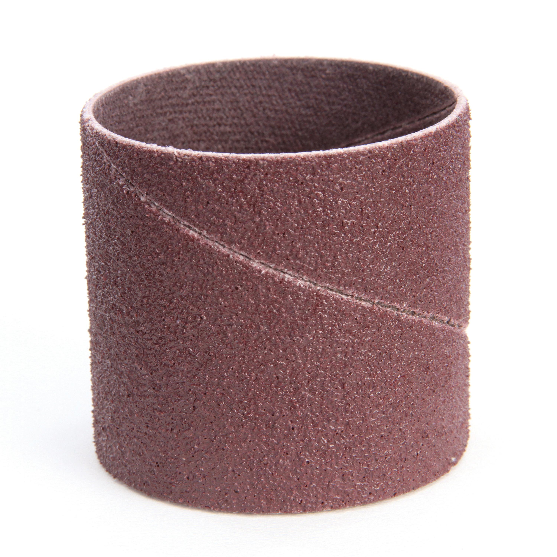 3M™ 051144-40196 Coated Spiral Band, 1-1/2 in Dia x 1-1/2 in L, 80 Grit, Medium Grade, Aluminum Oxide Abrasive