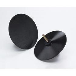 3M™ 051144-45068 Medium Density Molded Regular Disc Holder, 5 in Dia Pad, PSA Attachment