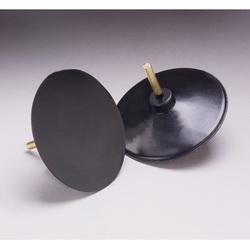 3M™ 051144-45069 Medium Density Molded Regular Disc Holder, 4 in Dia Pad, PSA Attachment