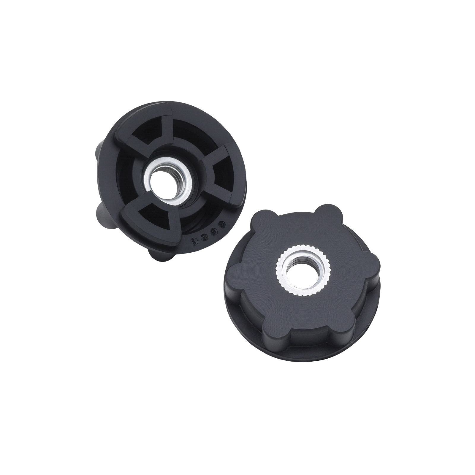 3M™ 051144-45205 Retainer Nut Disc Pad Hub, 2-1/2 in, For Use With 4 to 9 in Face Plate