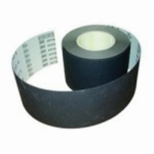 3M™ 051144-76492 Type E Coated Abrasive Belt, 6 in W x 144 in L, 60 micron Grit, Very Fine Grade, Silicon Carbide Abrasive, Polyester Film Backing