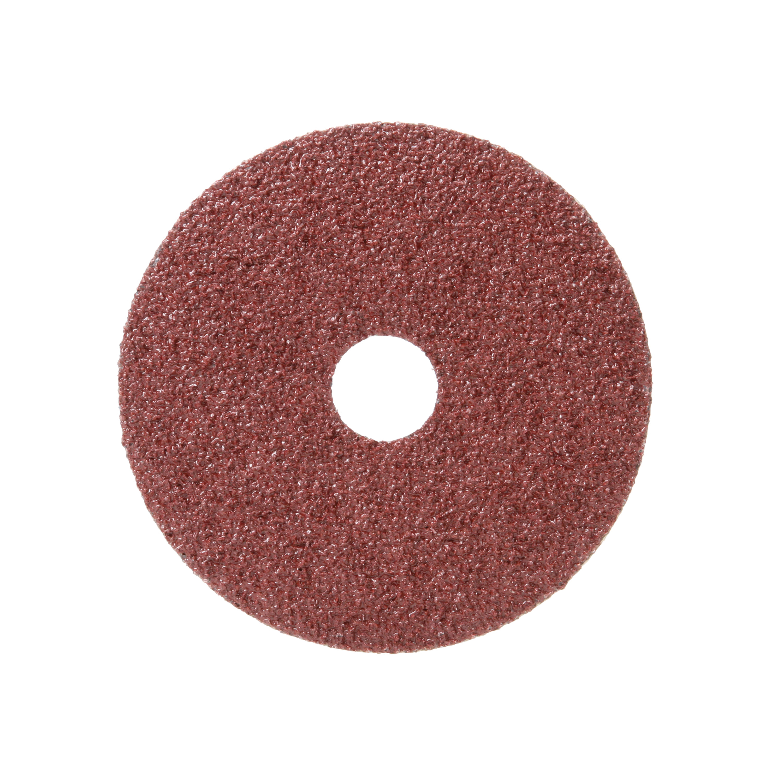 3M™ 051144-77595 381C Close Coated Closed Coated Abrasive Disc, 4-1/2 in Dia Disc, 7/8 in Center Hole, 24 Grit, Very Coarse Grade, Aluminum Oxide Abrasive, Arbor Attachment