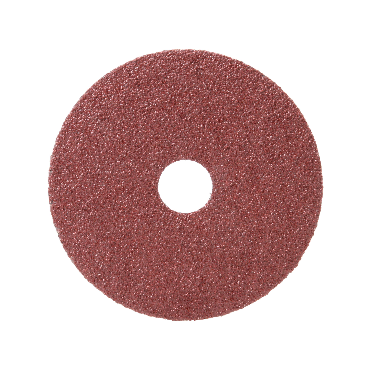 3M™ 051144-77596 Close Coated Abrasive Disc, 4-1/2 in Dia, 7/8 in Center Hole, 36 Grit, Very Coarse Grade, Aluminum Oxide Abrasive, Arbor Attachment
