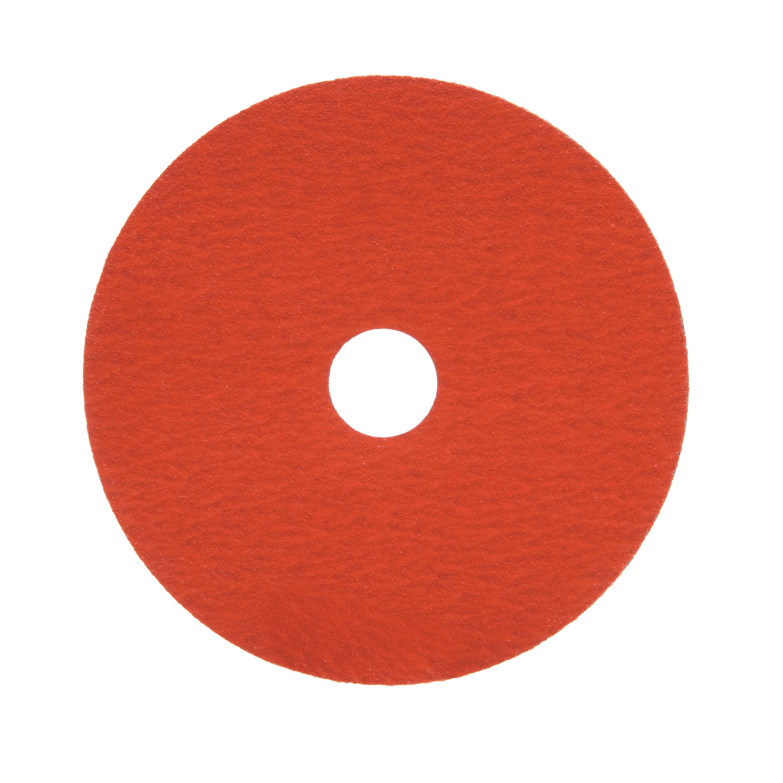3M™ 051144-80655 Close Coated Abrasive Disc, 5 in Dia, 7/8 in Center Hole, P120 Grit, Fine Grade, Aluminum Oxide/Ceramic Abrasive, Arbor Attachment