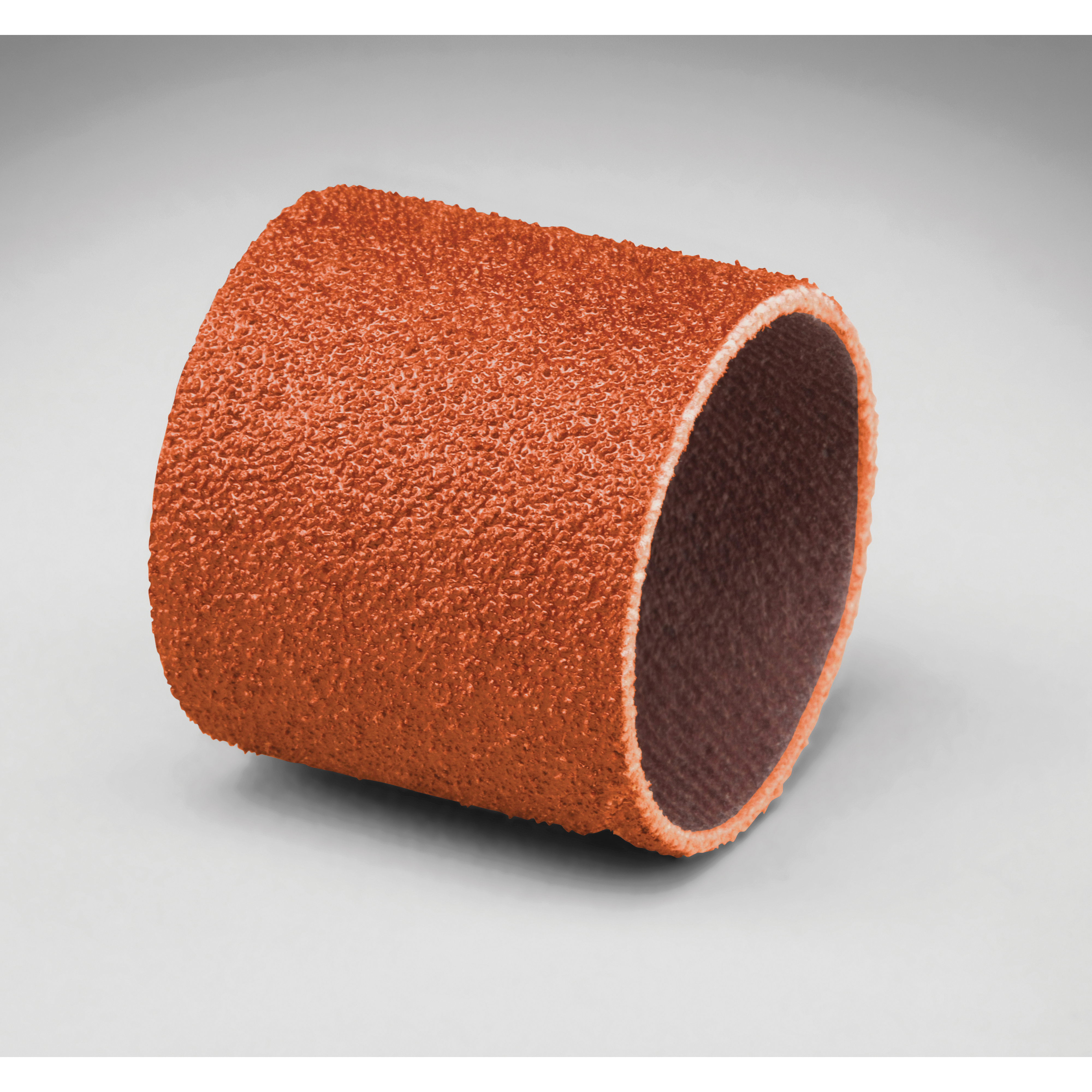 3M™ 051144-80782 747D Coated Spiral Band, 1 in Dia x 1 in L Band, P120 Grit, Fine Grade, Ceramic Abrasive
