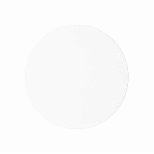3M™ 051144-80819 Coated Abrasive Plain Back Disc, 8 in Dia, 0.3 micron Grit, Aluminum Oxide Abrasive, Polyester Film Backing