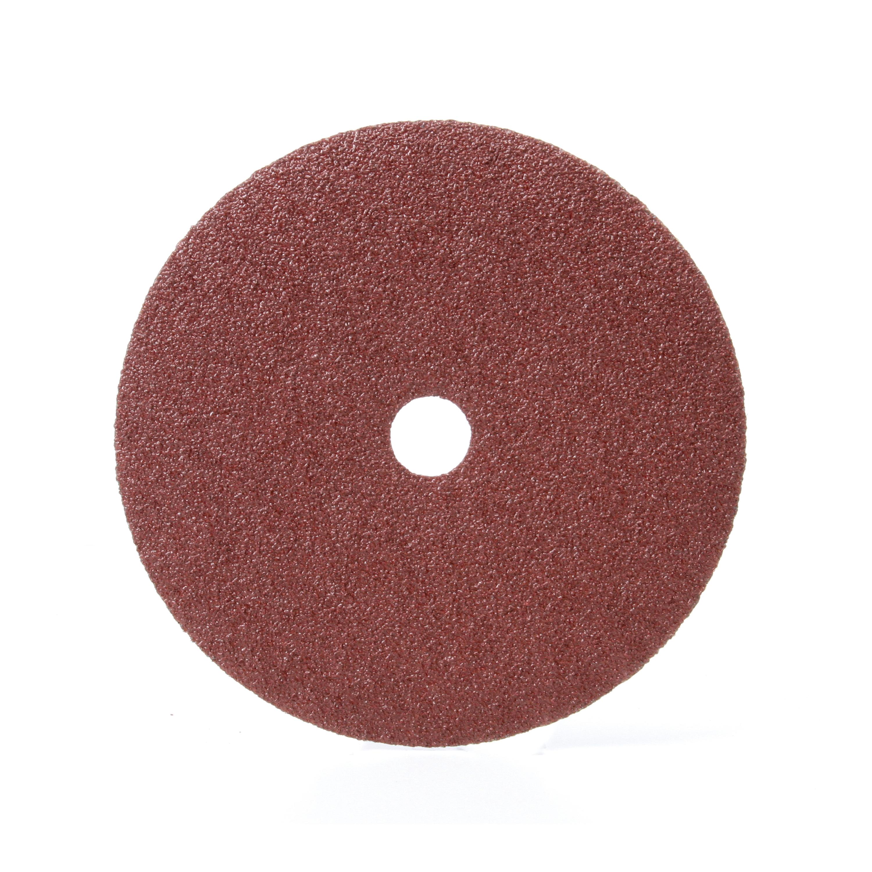 3M™ 051144-81373 381C Close Coated Closed Coated Abrasive Disc, 7 in Dia Disc, 7/8 in Center Hole, 36 Grit, Very Coarse Grade, Aluminum Oxide Abrasive, Arbor Attachment