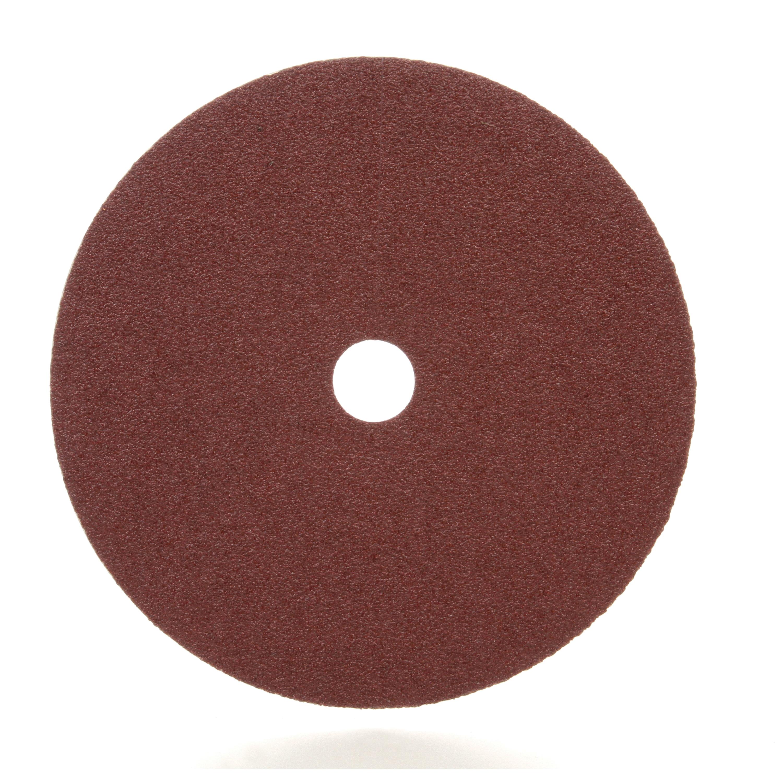 3M™ 051144-81376 Close Coated Abrasive Disc, 7 in Dia, 7/8 in Center Hole, 50 Grit, Coarse Grade, Aluminum Oxide Abrasive, Arbor Attachment