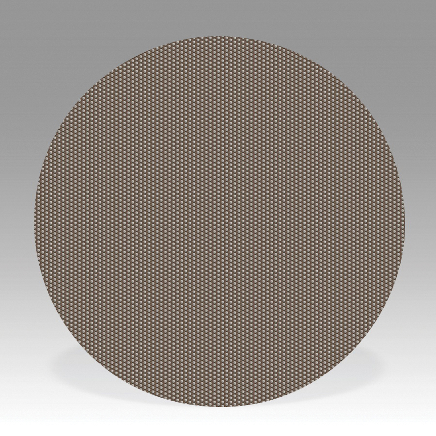 3M™ 051144-84378 Flexible Coated Abrasive Disc, 1 in Dia, No Hole, M10 Grit, Super Fine Grade, Diamond Abrasive