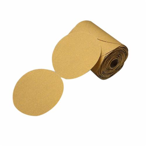 Stikit™ 051144-86490 Open Coated PSA Abrasive Disc Roll, 5 in Dia, P120 Grit, Aluminum Oxide Abrasive, Paper Backing