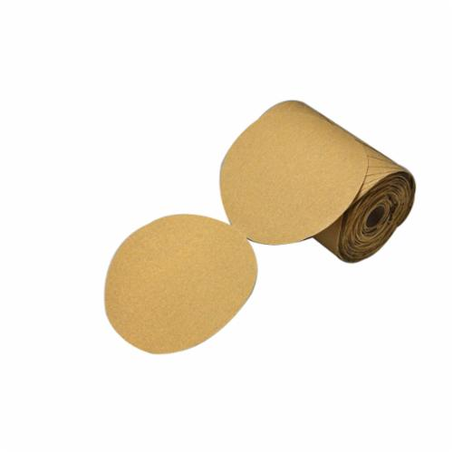 Stikit™ 051144-86495 Open Coated PSA Abrasive Disc Roll, 5 in Dia, P320 Grit, Aluminum Oxide Abrasive, Paper Backing