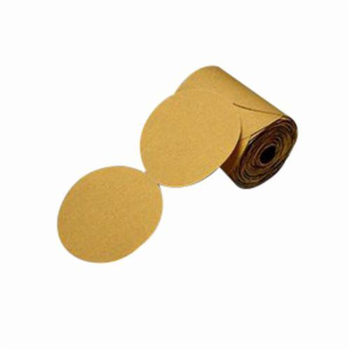 Stikit™ 051144-86497 Open Coated PSA Abrasive Disc Roll, 5 in Dia, P500 Grit, Aluminum Oxide Abrasive, Paper Backing