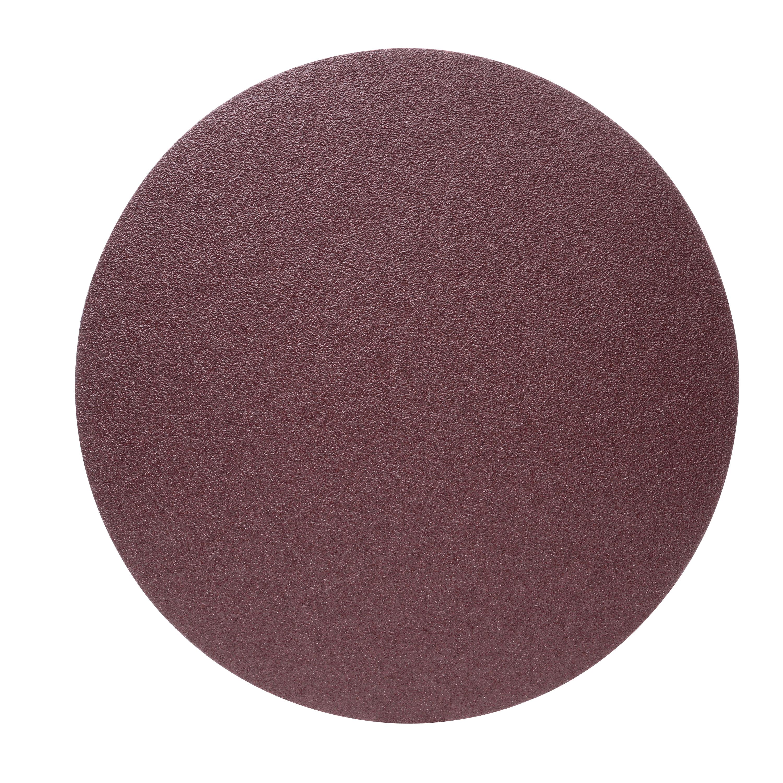 3M™ 051144-88882 348D Heavy Duty PSA Deburring Brush, 18 in Dia Disc, 36 Grit, Very Coarse Grade, Aluminum Oxide Abrasive, Cloth Backing