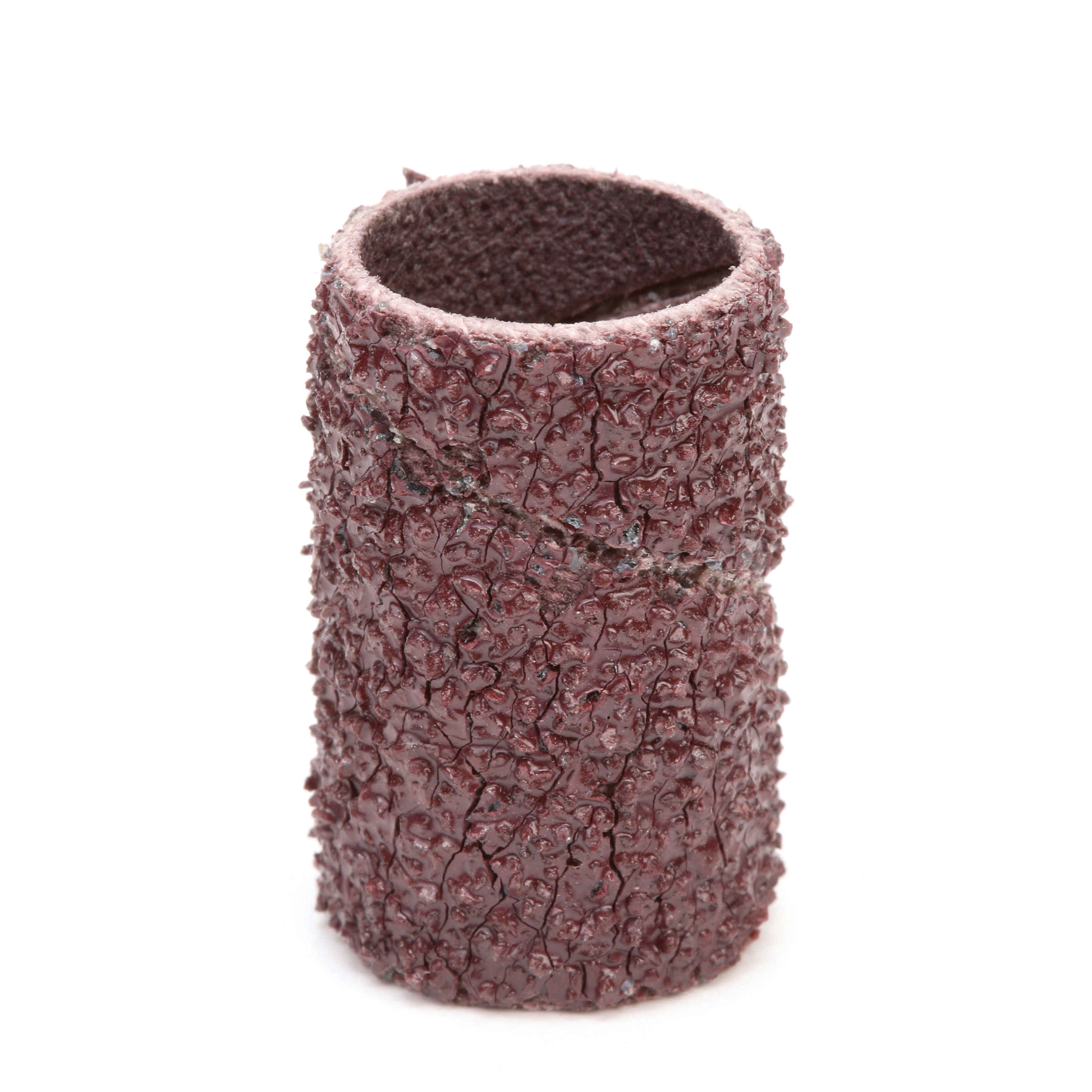 3M™ Evenrun™ 051144-97458 341D Surface Conditioning Coated Abrasive Band, 1/2 in Dia x 1 in L Band, 36 Grit, Very Coarse Grade, Aluminum Oxide Abrasive