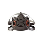 3M™ 051131-07026 6000 Half Face Mask, L, Bayonet Connection