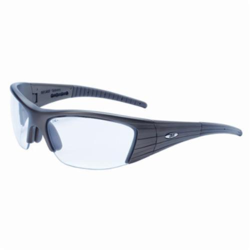 3M™ Fuel™ 078371-11637 11637-00000-10 X2 Premium Protective Eyewear, Anti-Fog Clear Lens, Half Framed Dark Copper Plastic Frame, Polycarbonate Lens, Specifications Met: ANSI Z87.1
