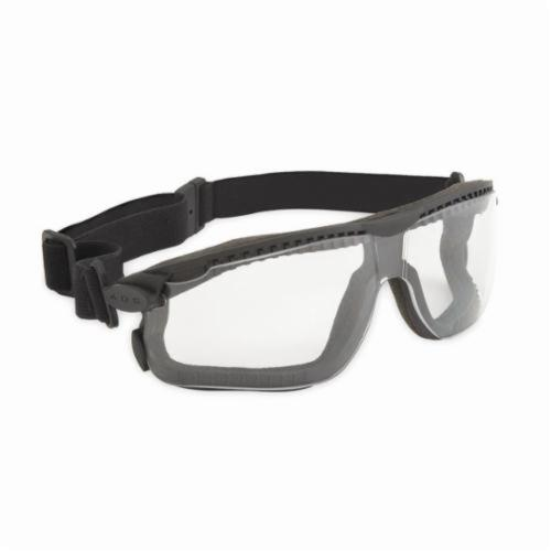 3M™ Maxim Plus™ 078371-12305 12305-00000-20 Direct Venting Safety Dust Goggles, Anti-Scratch/Anti-Fog Clear Polycarbonate Lens, 99.9% % UV Protection, Elastic Strap, Specifications Met: ANSI Z87.1-2003, CSA Z94.3-2007
