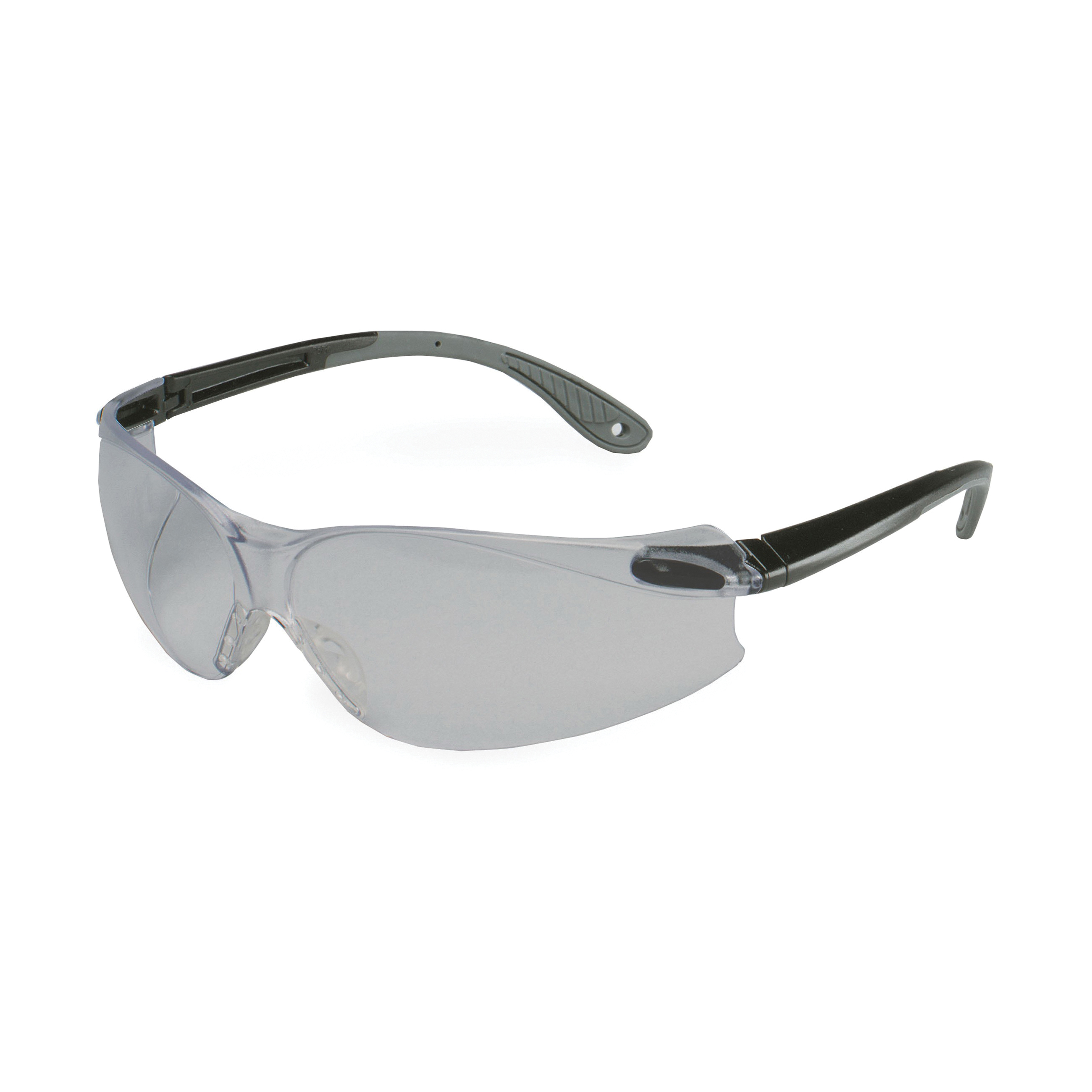 3M™ Virtua™ 078371-62037 V4 Economy Protective Eyewear, Anti-Fog, Gray Lens, Frameless/Wrap Around Frame, Black/Gray, Polycarbonate Frame, Polycarbonate Lens, ANSI Z87.1-2015
