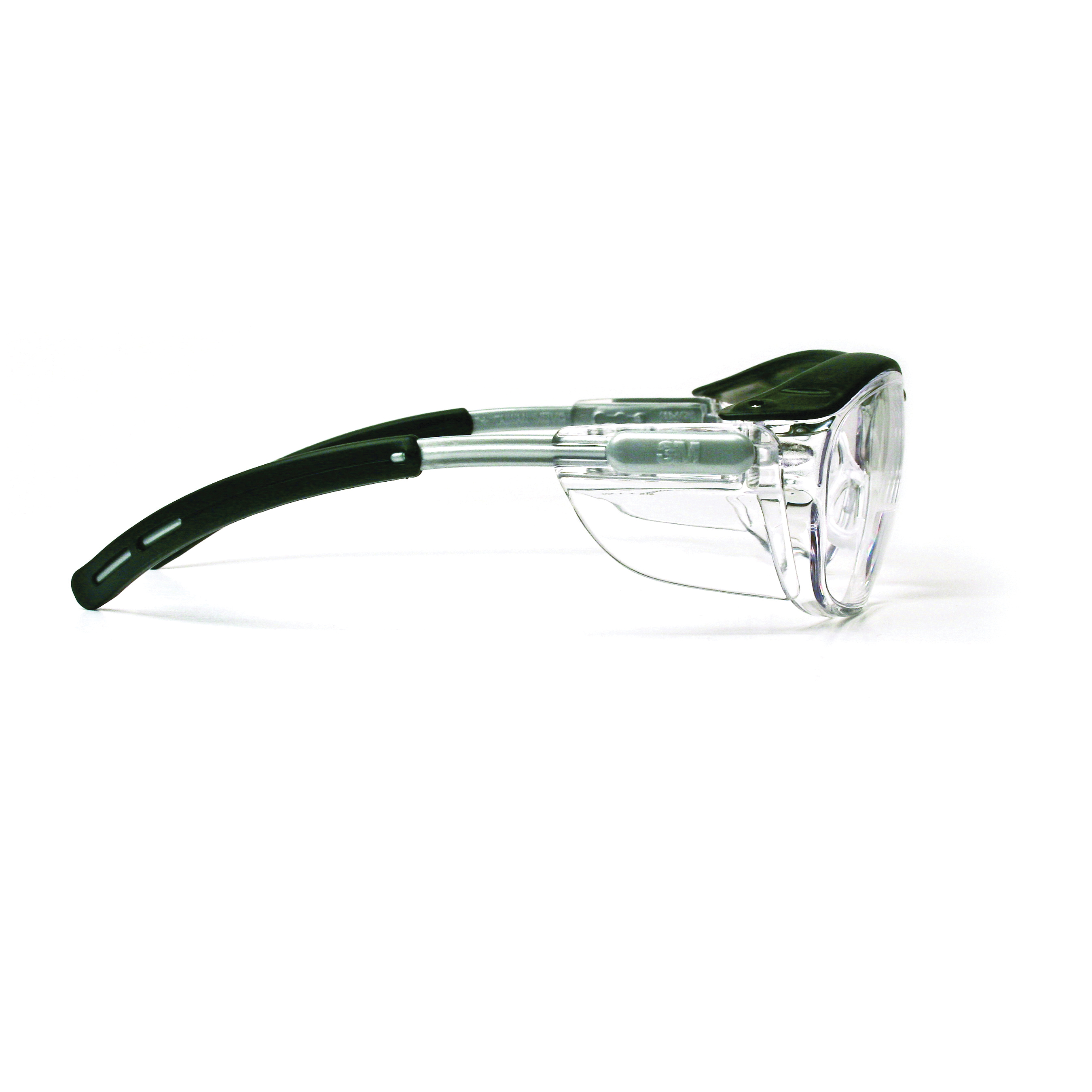 3M™ Nuvo™ 078371-62062 11434-00000-20 Bi-Focal Lens Lightweight Reader Protective Eyewear, 1.5 Diopter, Clear Lens, Gray Plastic Frame, Polycarbonate Lens, 99.9% UV Protection, Specifications Met: ANSI Z87.1-2015, CSA Z94.3-2007