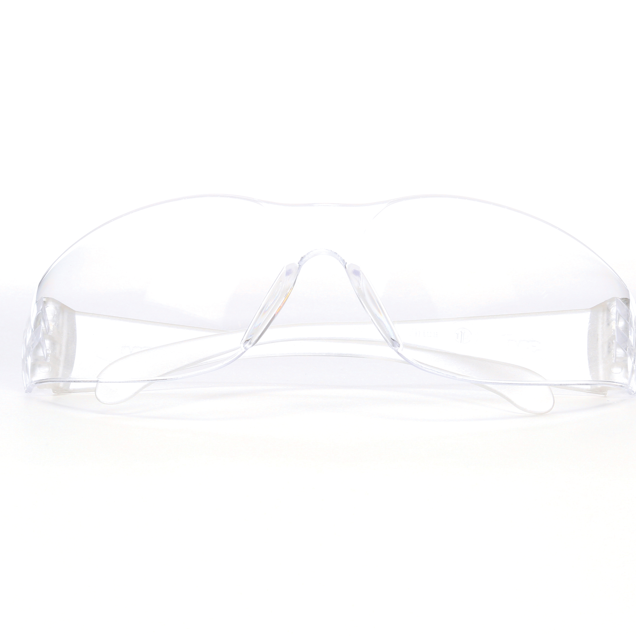 3M™ Virtua™ 078371-62099 11326-00000-20 Economy Lightweight Protective Eyewear, Anti-Scratch/Hard Coat Clear Lens, Frameless/Wraparound Clear Polycarbonate Frame, Polycarbonate Lens, Specifications Met: ANSI Z87.1-2015