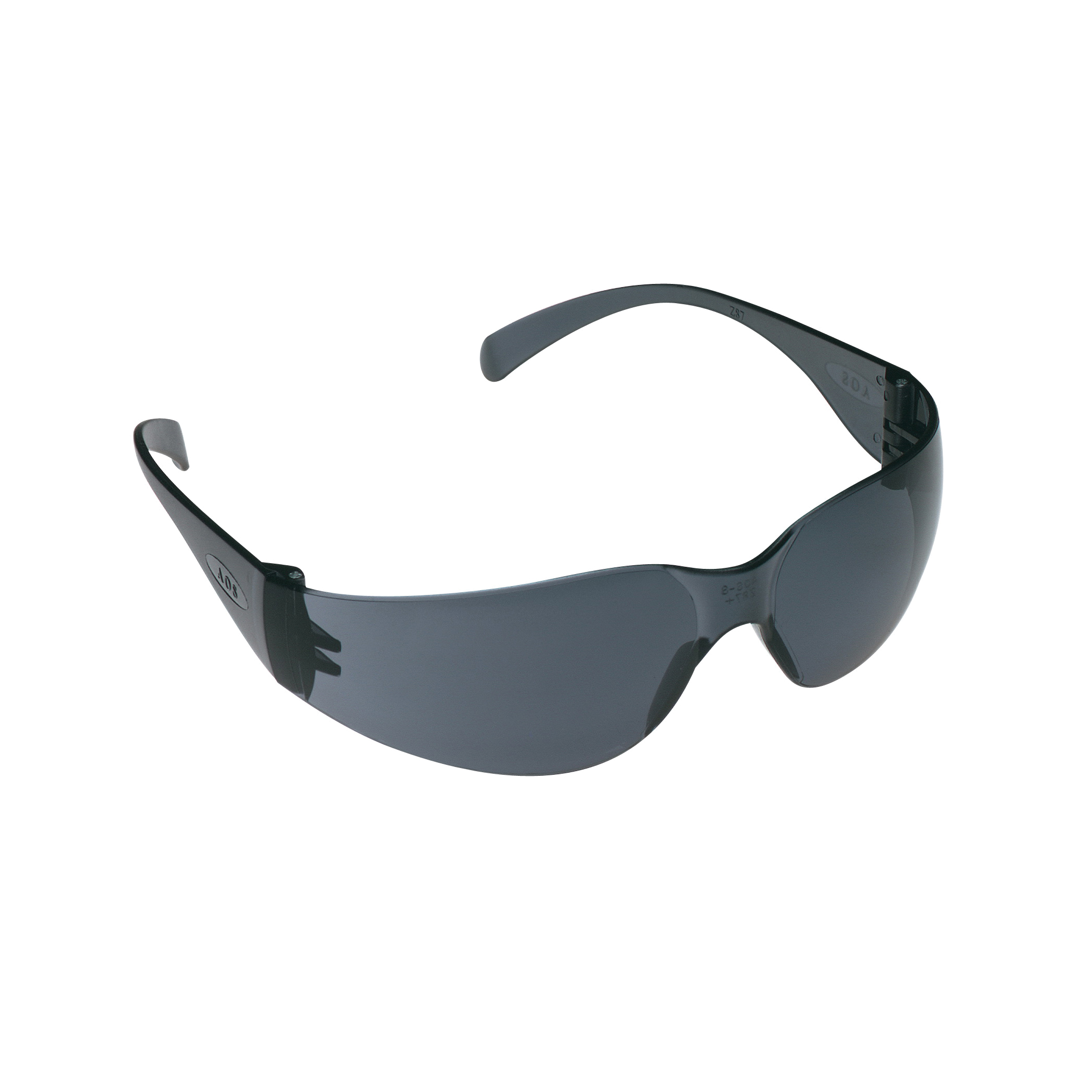 3M™ Virtua™ 078371-62102 11327-00000-20 Economy Protective Eyewear, Anti-Scratch/Hard Coat Gray Lens, Frameless/Wraparound Gray Polycarbonate Frame, Polycarbonate Lens, Specifications Met: ANSI Z87.1-2015