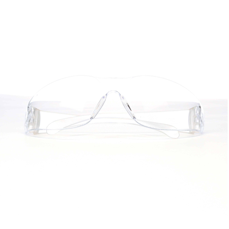3M™ Virtua™ 078371-62105 11329-00000-20 Economy Lightweight Protective Eyewear, Anti-Fog Clear Lens, Frameless/Wraparound Clear Polycarbonate Frame, Polycarbonate Lens, Specifications Met: ANSI Z87.1-2015