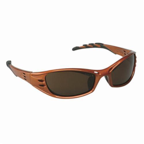 3M™ Fuel™ 078371-62158 11663-00000-10 Premium Protective Eyewear, Anti-Fog Brown Lens, Full Framed Burnt Copper Plastic Frame, Polycarbonate Lens, Specifications Met: ANSI Z87.1-2015