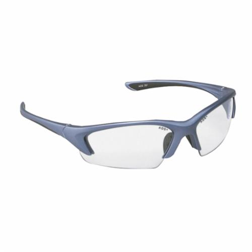3M™ Nitrous™ 078371-62161 11713-00000-20 Value Range Protective Eyewear, Anti-Fog Clear Lens, Half Framed Blue Plastic Frame, Polycarbonate Lens, Specifications Met: ANSI Z87.1-2015