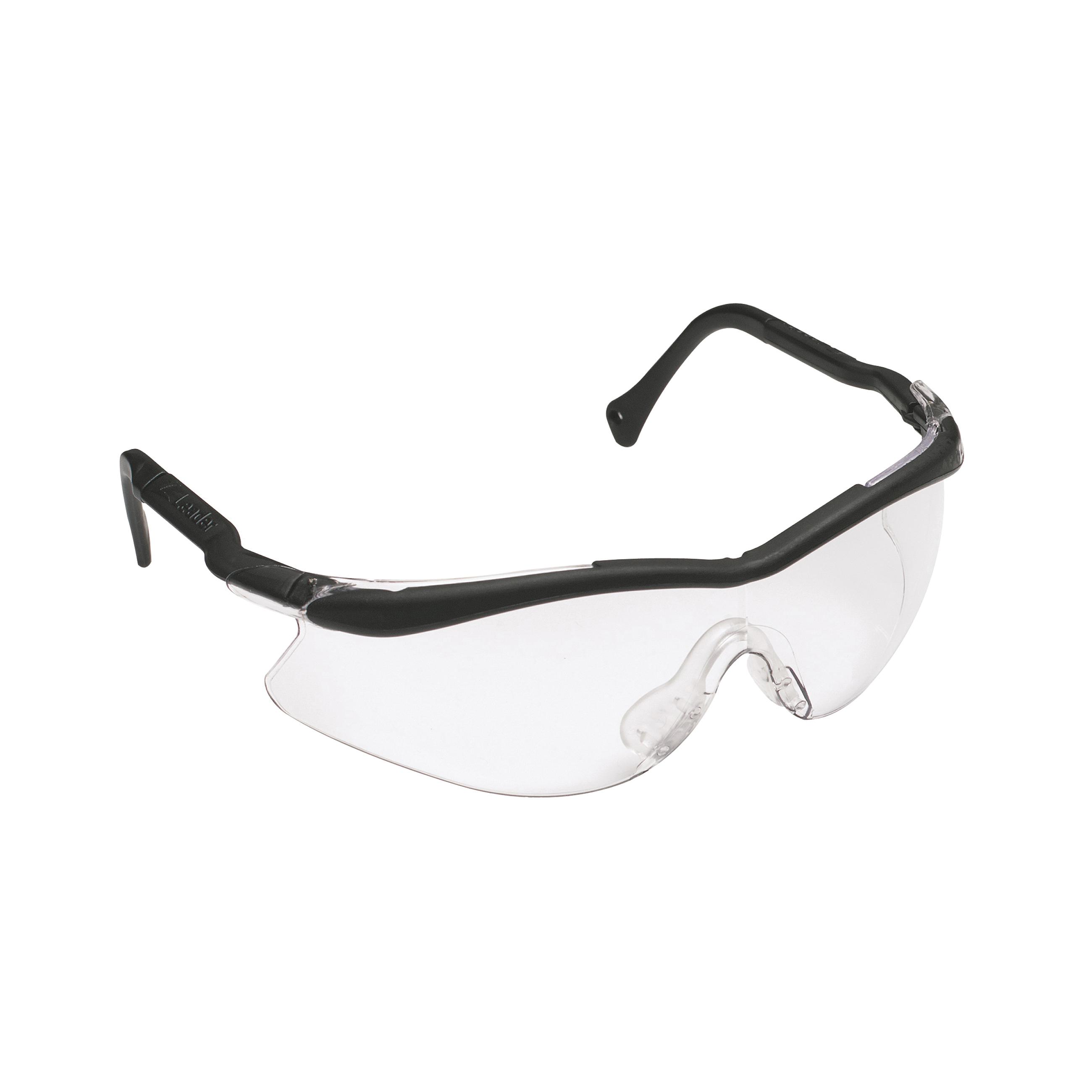 3M™ QX™ 078371-62209 12109-10000-20 2000 Value Range Protective Eyewear, Anti-Fog/Anti-Scratch Clear Lens, Half Framed Black Plastic Frame, Polycarbonate Lens, Specifications Met: ANSI Z87.1-2015