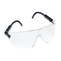 3M™ Lexa™ Fighter 078371-62282 Protective Glasses, DX™ Anti-Fog, Clear Lens, Frameless Frame, Black, Plastic Frame, Polycarbonate Lens, ANSI Z87.1, CSA Z94.3