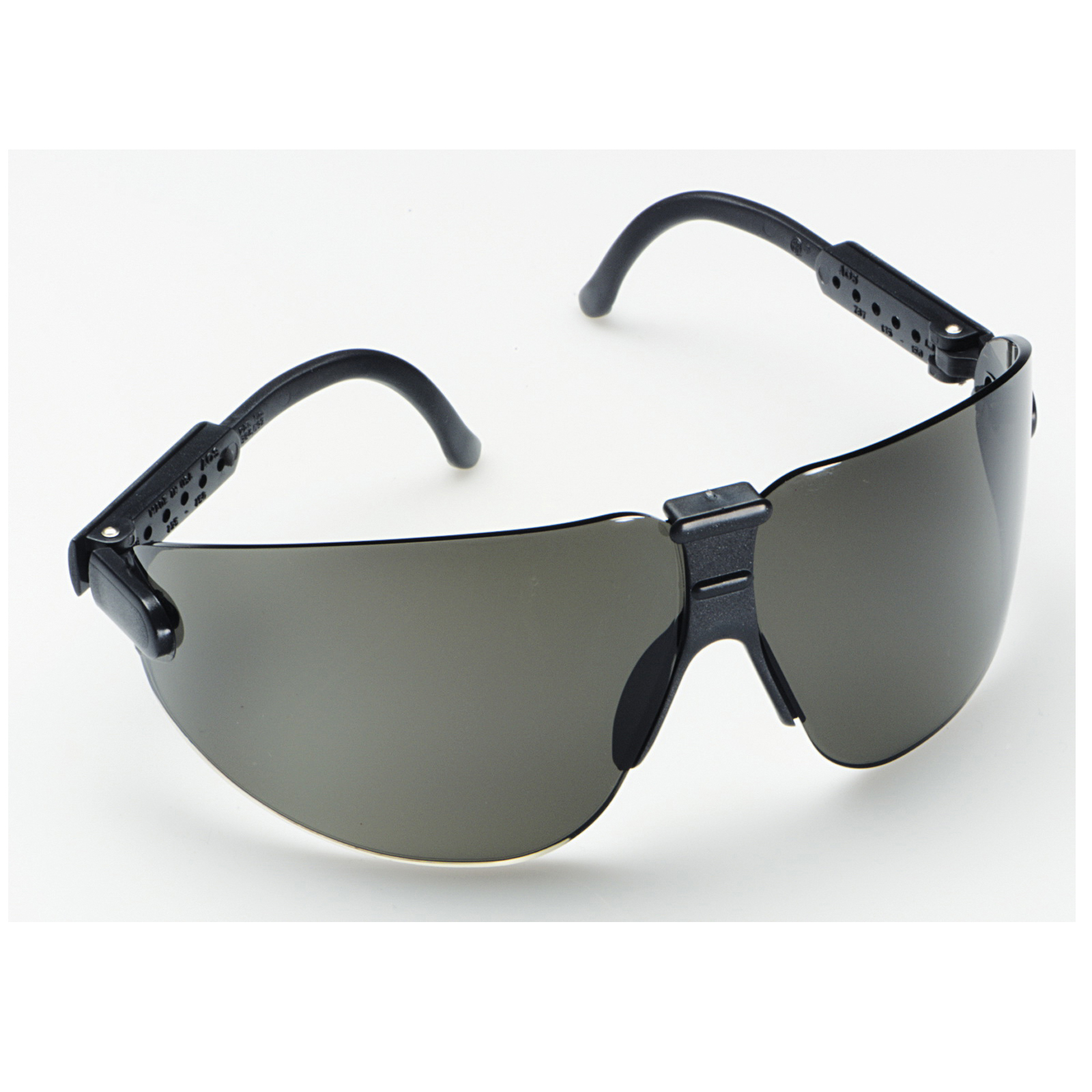 3M™ Lexa™ Fighter 078371-62289 Protective Glasses, DX™ Anti-Fog, Gray Lens, Frameless Frame, Black, Polycarbonate Lens, ANSI Z87.1, CSA Z94.3