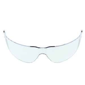 3M™ Aearo Lexa™ 078371-62297 15245-00000-20 Replacement Lens, Anti-Fog/Anti-Scratch Clear Polycarbonate Lens, For Use With Maxim™ Safety Goggles