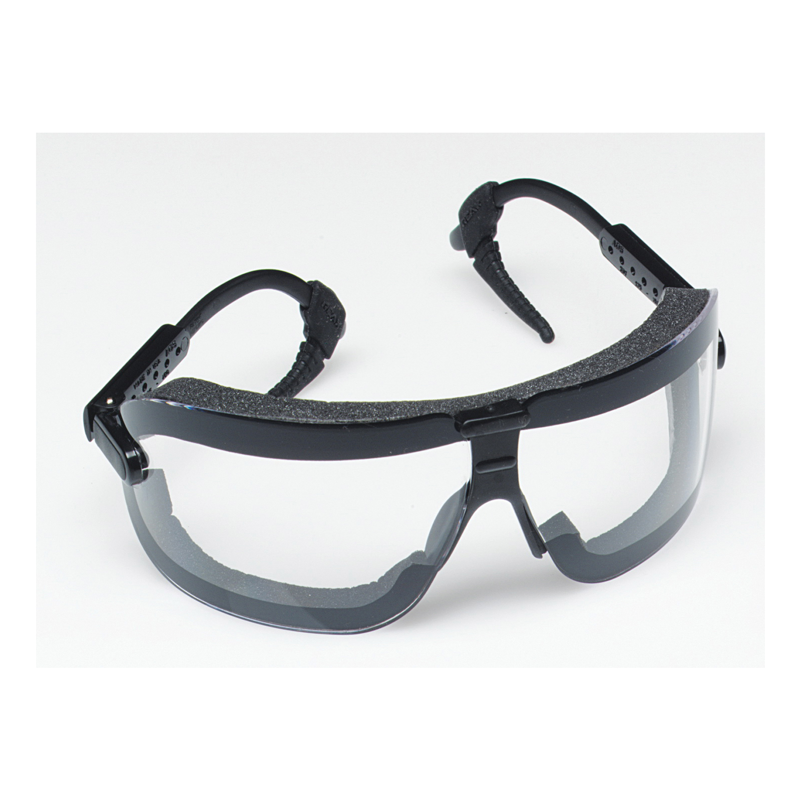 3M™ Fectoggles™ 078371-62322 16408-00000-10 Lightweight Safety Goggles, Anti-Fog/Anti-Scratch Clear Polycarbonate Lens, 99.9% % UV Protection, Elastic Strap, Specifications Met: ANSI Z87.1-2015, CSA Z94.3