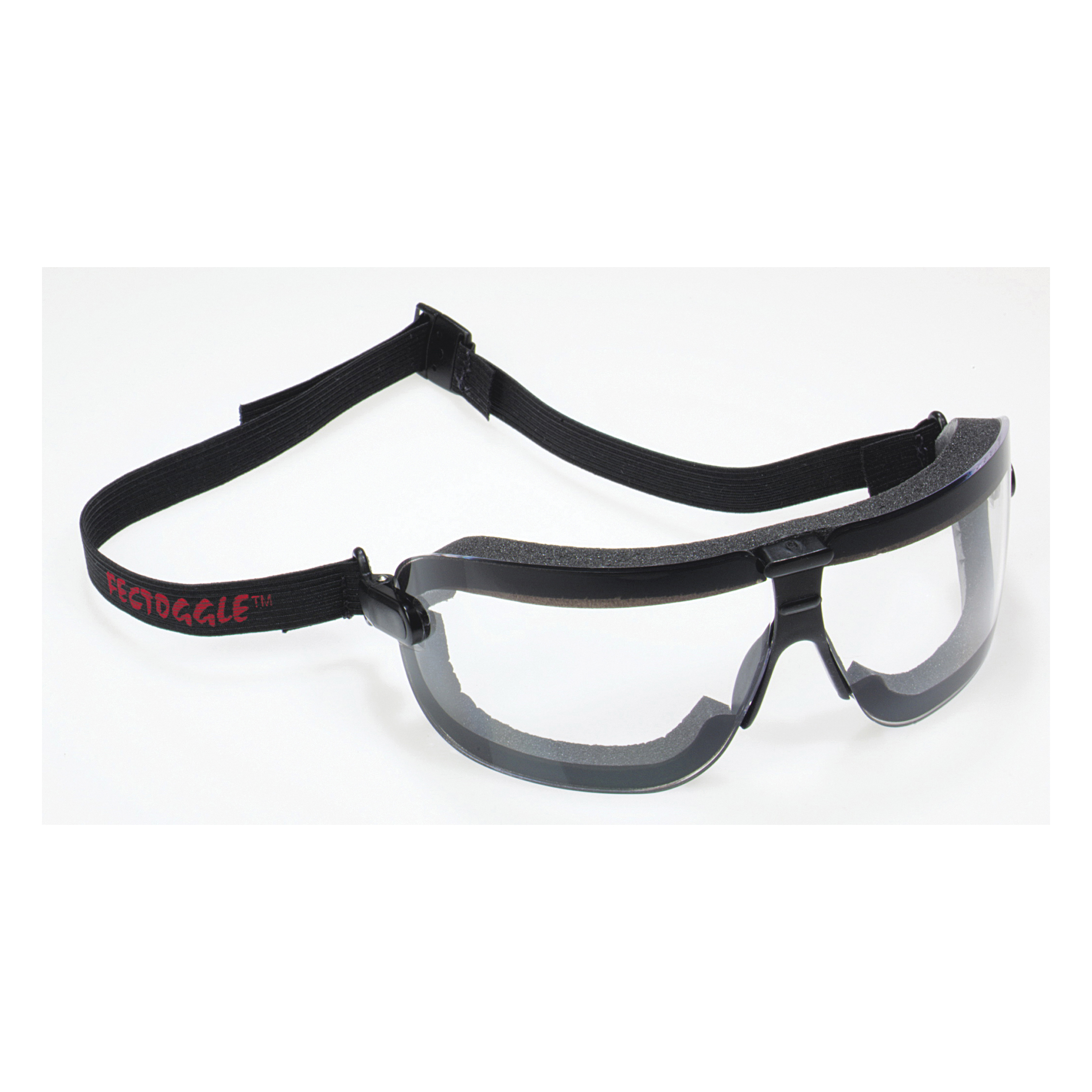 3M™ Fectoggles™ 078371-62324 16412-00000-10 Lightweight Safety Goggles, Anti-Fog/Anti-Scratch Clear Polycarbonate Lens, 99.9% % UV Protection, Elastic Strap, Specifications Met: ANSI Z87.1-2015, CSA Z94.3