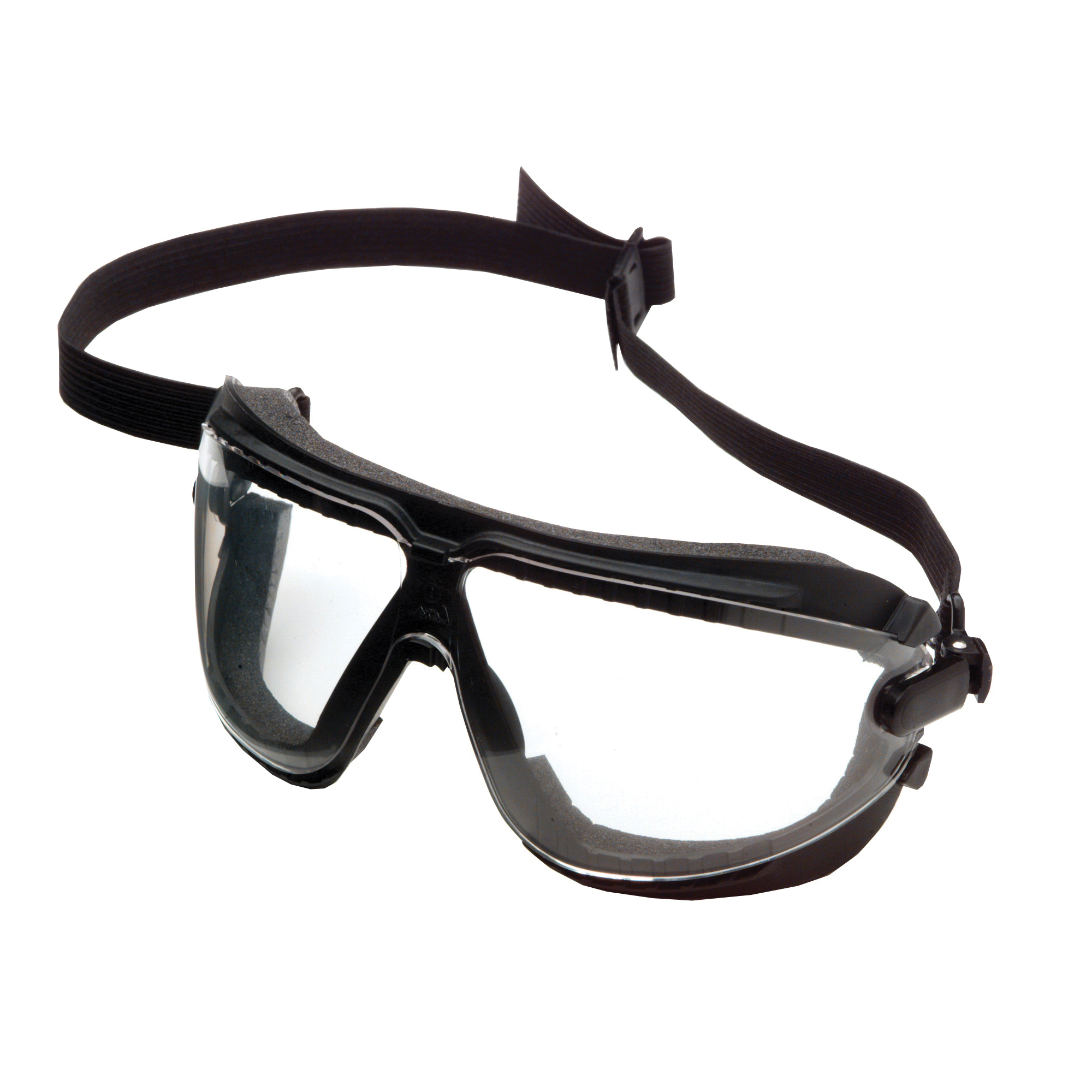 3M™ GoggleGear™ 078371-62330 Direct Vent Lightweight Value Safety Goggles, Anti-Fog/Impact-Resistant/UV-Protective Clear Polycarbonate Lens, 99.9 % UV Protection, Elastic Strap, ANSI Z87.1-2003, CSA Z94.3-2007